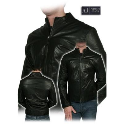 cheap for discount 9b9c4 6fbfd Armani Jeans - Giacca uomo - Vera pelle - Taglia 48