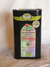1 lr. CAN Extravirgin Tuscany Oil
